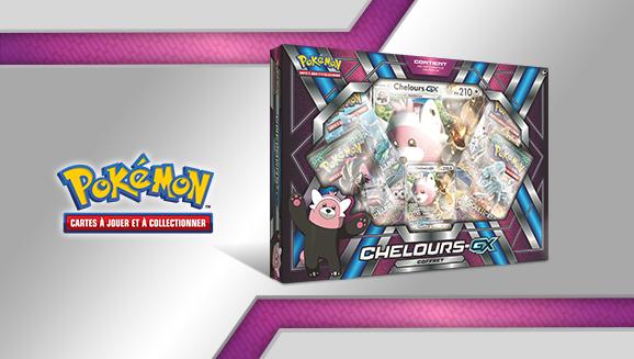 Coffret Chelours-<em>GX</em> du JCC Pokémon