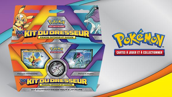 Kit du Dresseur du JCC Pokémon : <em>XY – Pikachu Catcheur et Suicune</em>