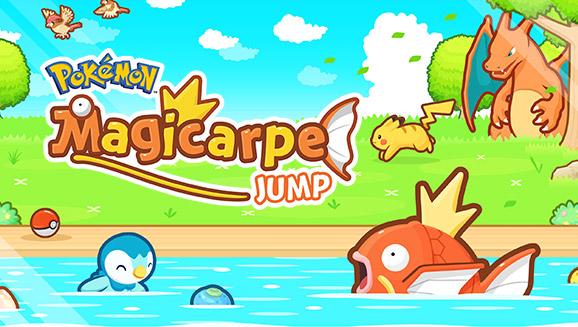 Bondissez de joie avec <em>Pokémon : Magicarpe Jump</em>!