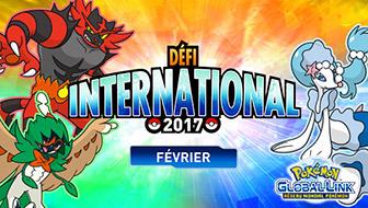 Les résultats du Défi International de février 2017 ont été annoncés.