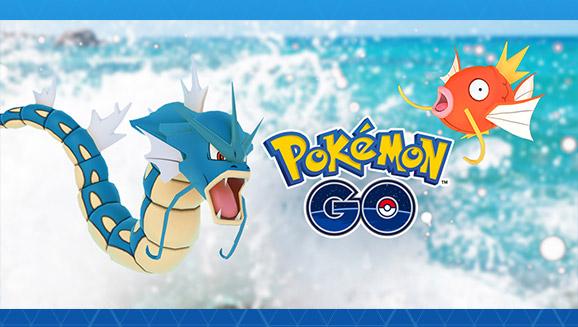 Jetez-vous à l'eau dans <em>Pokémon GO</em>