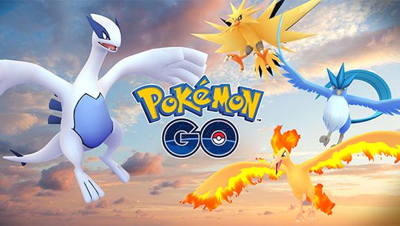 Lugia et Artikodin apparaissent dans <em>Pokémon GO</em>!