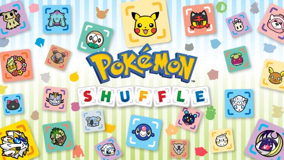 Faites place aux Pokémon d'Alola dans <em>Pokémon Shuffle</em>!
