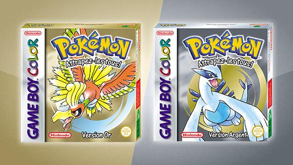 <em>Pokémon Version Or</em> et <em>Pokémon Version Argent</em> reviennent sur console virtuelle !