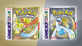 Pokémon Version Or et Pokémon Version Argent reviennent sur console virtuelle !