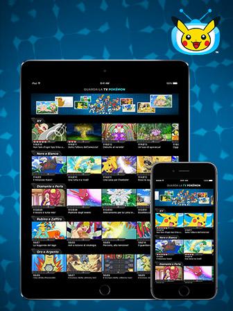 Téléchargez l'application TV Pokémon mise à jour !