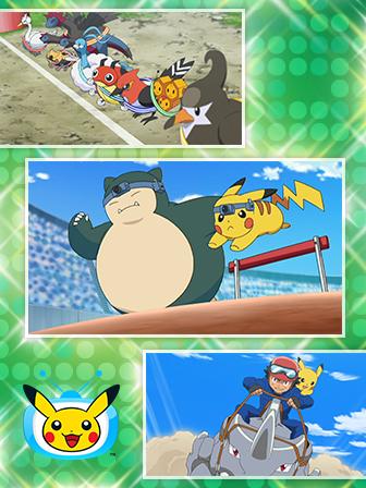 C'est la Semaine du Sport sur TV Pokémon !