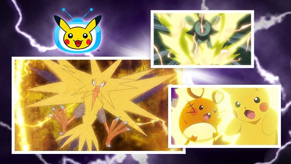 Ne manquez pas la semaine Chocs Électriques sur <em>TV Pokémon</em>