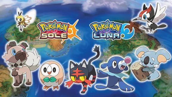 I Pokémon di Alola debuttano nel Pokédex!