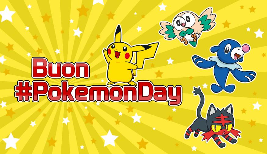 Festeggia anche tu Pokémon Day!