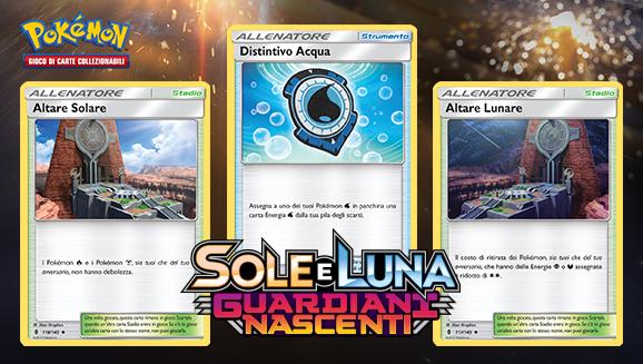 Carte Allenatore per tutti i gusti in <em>Sole e Luna - Guardiani Nascenti</em>