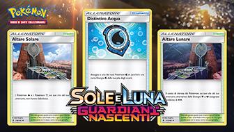 Carte Allenatore per tutti i gusti in Sole e Luna - Guardiani Nascenti