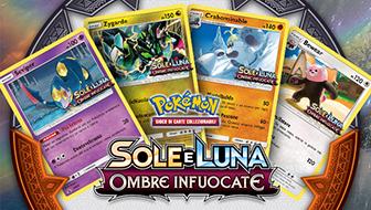 Dettagli sui tornei prerelease dell'espansione Sole e Luna - Ombre Infuocate del GCC Pokémon