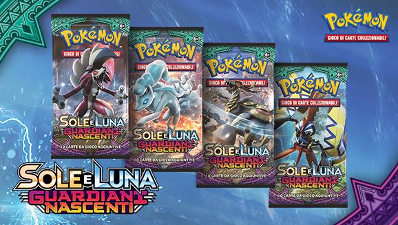 <em>Sole e Luna - Guardiani Nascenti</em> del GCC Pokémon