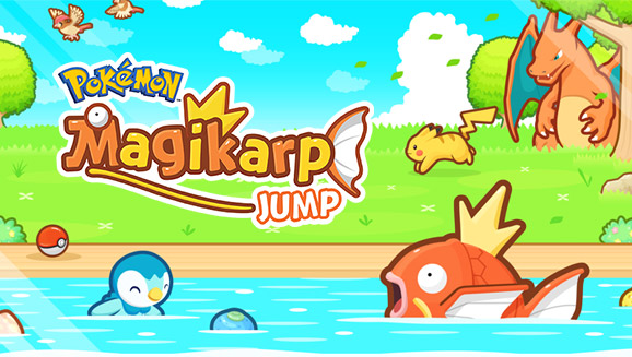 Salta oltre le nuvole con <em>Pokémon: Magikarp Jump</em>!