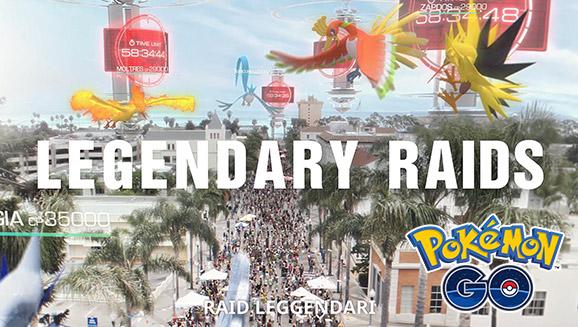 I Pokémon leggendari stanno per arrivare in <em>Pokémon GO</em>!