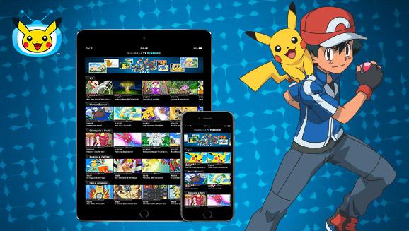 Scarica la versione aggiornata della app TV Pokémon!