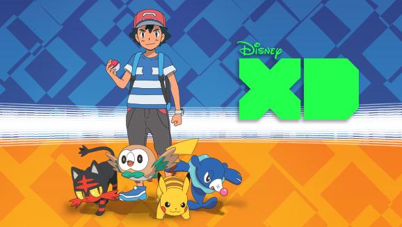 Bekijk <em>Pokémon de Serie: Zon & Maan</em> op Disney XD