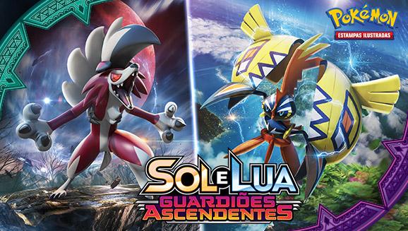 Pokémon Estampas Ilustradas: <em>Sol e Lua - Guardiões Ascendentes</em>