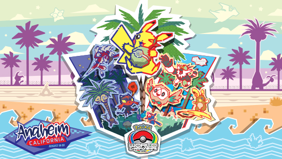 Mistroví světa v karetní hře Pokémon 2017