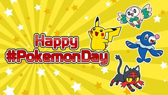 Celebrate Pokémon Day