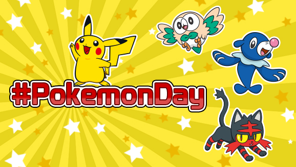 Celebrate Pokémon Day on February 27