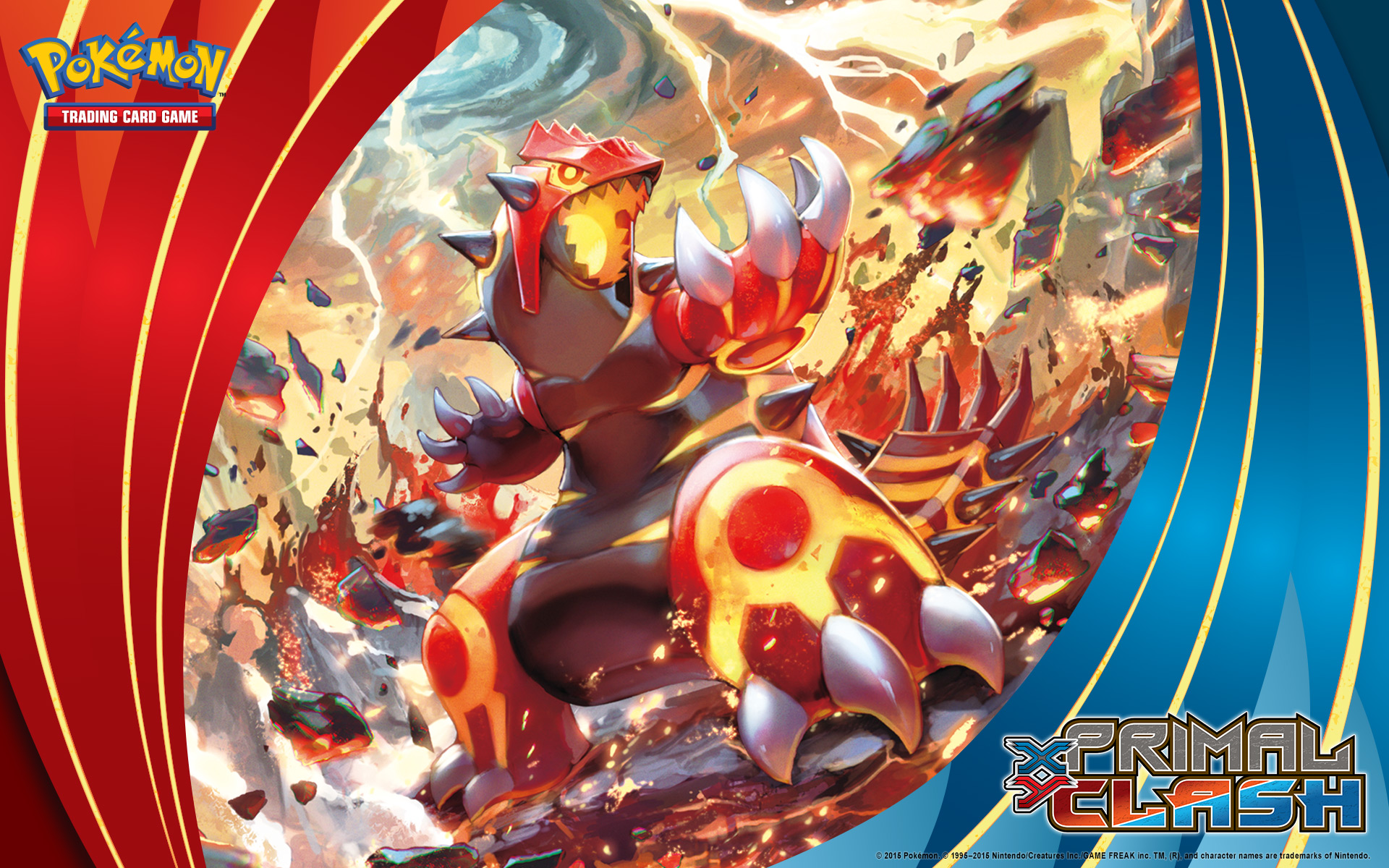 Wallpaper download pokemon - Pok Mon Tcg Xy Primal Clash Primal Groudon Wallpaper
