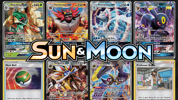 Browse the Cards of <em>Sun & Moon</em>!