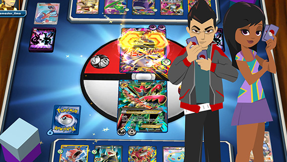 Play the Pokémon TCG Online