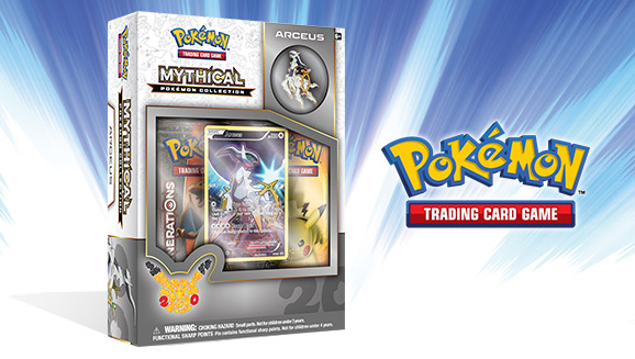 Pokémon TCG: Mythical Pokémon Collection—Arceus