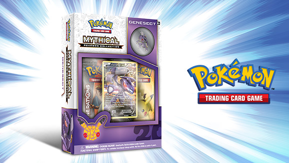 Pokémon TCG: Mythical Pokémon Collection—Genesect
