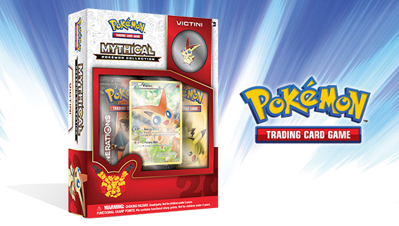 Pokémon TCG: Mythical Pokémon Collection—Victini