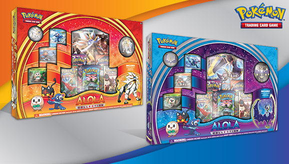 Pokémon TCG: Alola Collection