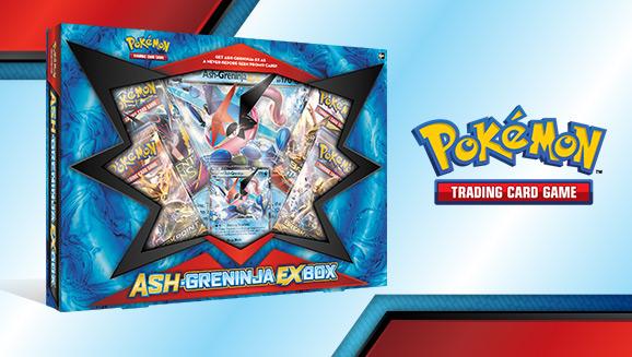 Pokémon TCG: Ash-Greninja-<em>EX</em> Box