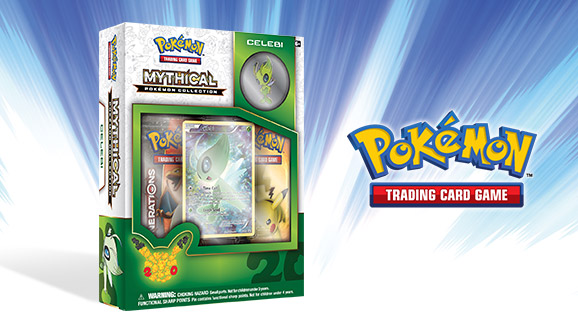 Pokémon TCG: Mythical Pokémon Collection—Celebi