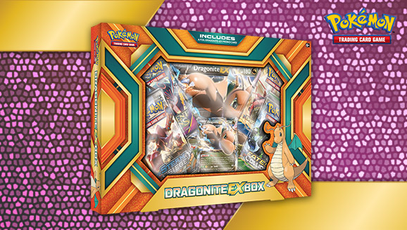 Pokémon TCG: Dragonite-<em>EX</em> Box