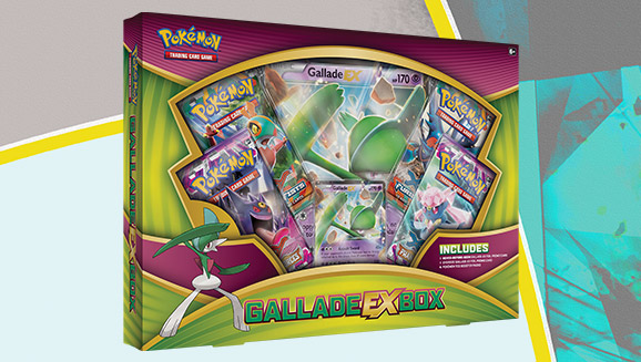Pokémon TCG: Gallade-<em>EX</em> Box