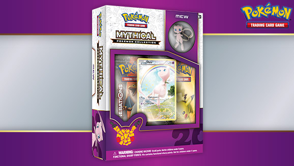 Pokémon TCG: Mythical Pokémon Collection—Mew