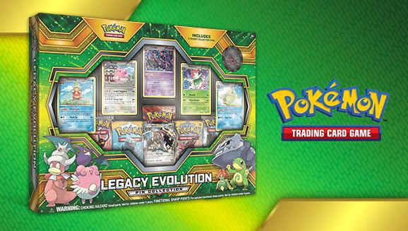 Pokémon TCG: Legacy Evolution Pin Collection
