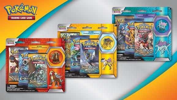 Pokémon TCG: Collector's Pin 3-Pack Blister (Raikou, Entei, or Suicune)
