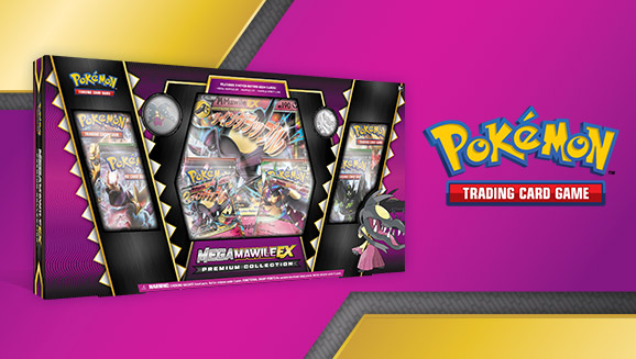 Pokémon TCG: Mega Mawile-<em>EX</em> Premium Collection