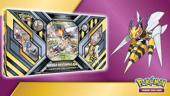 Pokémon TCG: Mega Beedrill-<em>EX</em> Premium Collection