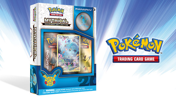 Pokémon TCG: Mythical Pokémon Collection—Manaphy