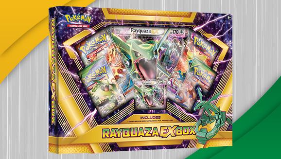 Pokémon TCG: Rayquaza-<em>EX</em> Box