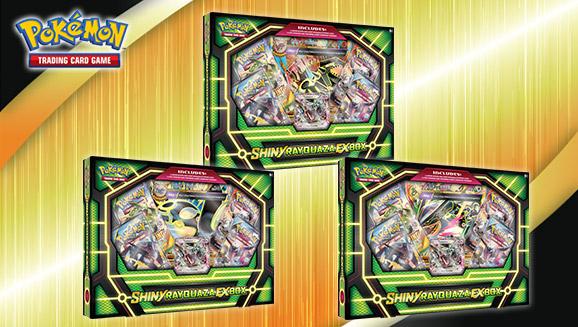 Pokémon TCG: Shiny Rayquaza-<em>EX</em> Box