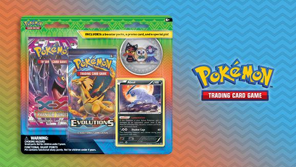 Pokémon TCG: Alola Trio Pin Blister