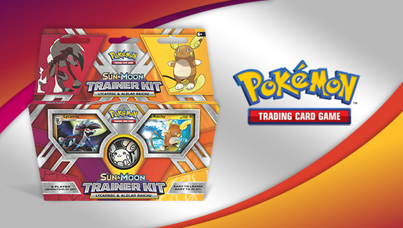 Learn the Pokémon TCG with Lycanroc and Alolan Raichu