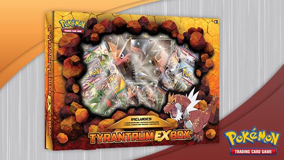 Pokémon TCG: Tyrantrum-<em>EX</em> Box