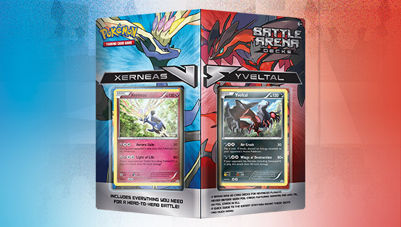 Pokémon TCG Battle Arena Decks: Xerneas vs. Yveltal