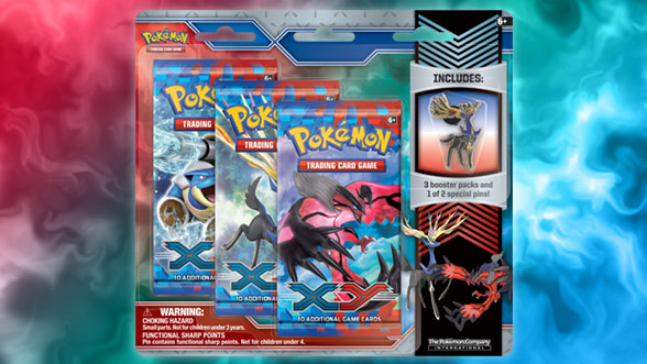 Pokémon TCG: <em>XY</em> Collector Pin 3-Pack
